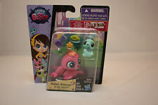 Littlest Pet Shop Wallace Waterman Walrus 3818 Sally Seaforth Seahorse 3819 Nip