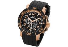 TW Steel TW92 Men's Grandeur Diver Chronograph 48mm Rose-Tone PVD Rubber Watch