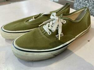 Size 80S Made In Usa Vans Authentic Khaki Us9