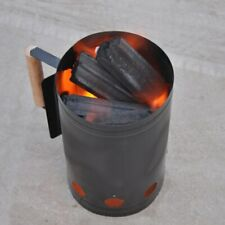 Barbecue Chimney Fire Starter Outdoor Steel Ignition Charcoal Grill Home BBQ