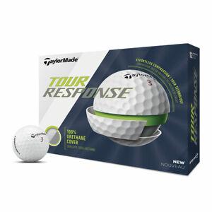 TaylorMade Tour Response Golf Balls - 3 Dozen White