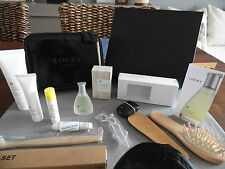 Garuda Indonesia First Class LOEWE amenity kit bag Trousse Neceser culture sachet