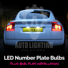 For Audi TT Mk1 1998-2006 8N A2 Canbus Error Free LED Number Plate Light Bulbs