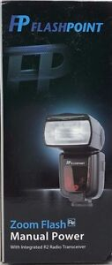 Flashpoint - FPLFSMZ - Zoom R2 Manual Flash Integrated R2 Radio Transceiver