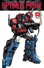 Optimus Prime #1 cover A John Barber Kei Zama IDW 1st Print NM