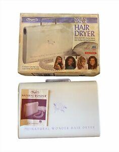 Dazey Natural Wonder Soft Bonnet Hair Dryer Model HD-32 Vintage 1980's Cold Shot