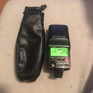 Pentax AF-360FGZ Electronic Flash Unit For SLR & DSLR Cameras Seapunk Digi Art