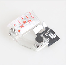Adjustable  Bias Sewing Machine Presser Foot Tape Binding Binder 5mm to 20mm