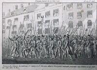 Sans Culottes 1792 Femmes dans la Révolution Française Journée du 20 Juin Paris