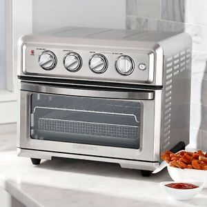 Cuisinart Airfryer Toaster Oven NEW_TOA-60_Silver