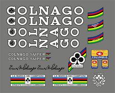 COLNAGO SUPER FRAME DECAL SET WHITE VERSION