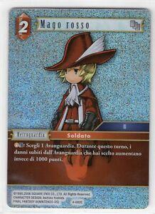 Final Fantasy TCG FOIL Mago Rosso Opus IV 4-002C ITA Mint