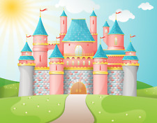 The Prince & Princess Canvas Theatre backdrop perfect for Pelham Puppets