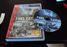 DVD FIDEL CASTRO ( CUBA )IL SOGNO INFRANTO ottimo e raro
