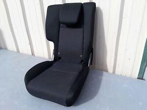 2015-2019 HONDA FIT LX REAR RIGHT PASSENGER SIDE SEAT COMPLETE CLOTH BLACK OEM