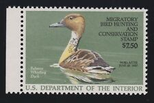 US RW53 1986 $7.50 Federal Duck Stamp Mint Superb OG NH w/ PSE '98' Cert SMQ$150