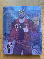 Cyberpunk 2077 steelbook maelstrom NO GAME limited collector ps4 xbox one