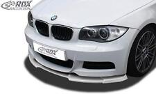 RDX Front Spoiler BMW 1-series E82 / E88