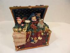 Windsor Collection Musical Treasure Box Christmas Music Box Tune: Toy Land