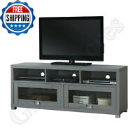 TV Stand Flat Screen 75 inch Entertainment Media Console Home Center Furniture