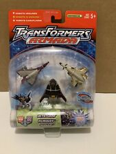 Transformer Armada Air Assault MiniCon Team Dark Star Saber Jetstorm Runway Sona