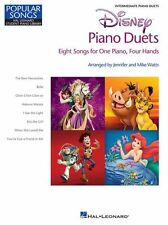 Disney Piano Duets Learn to Play KISS THE GIRL Belle Keyboard Duos Music Book