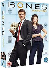 BONES Complete Series 3 DVD Box Set All Episode Third 3rd Season Original UK R2
