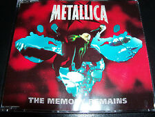 Metallica The Memory Remains - Red Cover – Australian 3 Track CD Single