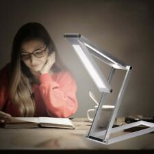 Wireless Dimmable Desk Lamp USB Rechargeable Folding LED Reading Light`