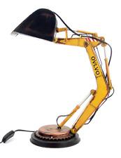 Desk Lamp Loft Excavator tin tinplate metal model handmade