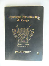 Democratic Republic of the Congo annulled passport 2015.