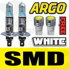2 X VAUXHALL ZAFIRA H1 + 501 55W HALOGEN SUPER WHITE 228 SMD HEADLIGHT BULBS