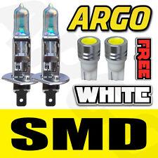 2 X WHITE H1 501 55W HALOGEN CAR DRIVING HEADLIGHT FOG LIGHT BULBS 12V UPGRADE