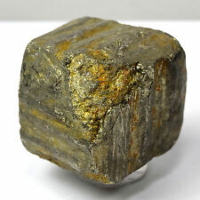 90g Golden Pyrite Cube Natural Crystal Cluster Quartz Mineral Rough Stone China