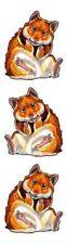 ~ Hampster Mammal Wildlife Nature Craft Scrapbooking Stickers ~