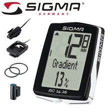 Sigma BC 14.16 Bike Computer - Wired, 14 Functions