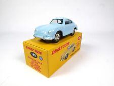 Blue porsche 356a coupe dinky toys deagostini-norev miniature car 182