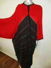 ERTE Magifrance Art to Wear RARE VTG Art Deco Sweater Coat Kimono
