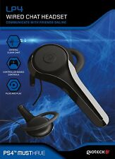 GIOTECK LP4 WIRED CHAT HEADSET - PLAYSTATION 4 PS4 & PS4 PRO - NEW & SEALED