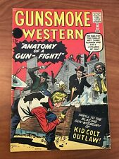 Gunsmoke Western #68 Atlas Comics 1962 12 cent variant VG/FN Kid Colt SCARCE