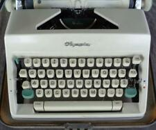 Vintage Olympia De Luxe Model Portable Manual Typewriter - GOOD WORKING COND.