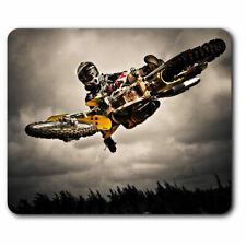 Alfombrilla Ratón de ordenador-Stunt Bicicleta Motocross Moto Biker Oficina Regalo #8088
