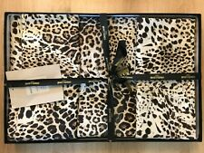 Roberto Cavalli Animalier Satin Cotton Duvet Cover and Pillowcases - King Size