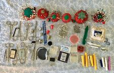 Large Lot of Sewing Supplies - Pins & Pincushions, Needles, Thimbles, Scissors,