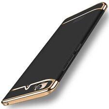 Handy Hülle Schutz Case für Xiaomi Mi 5s Bumper 3 in 1 Cover Chrom Etui Schwarz