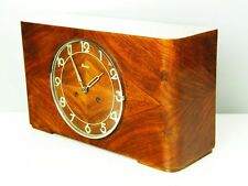 BEAUTIFUL ART DECO  KIENZLE CHIMING MANTEL CLOCK  WITH POTSDAMER CHIME HALF HOUR