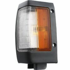 For Nissan D21 90-92, Driver Side Corner Light, Clear and Amber Lens