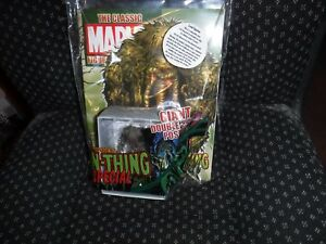 Extremely RARE Sealed In Bag MINT EagleMoss Man-Thing Lead Figurine With Poster
