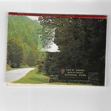 POSTCARD FOLDER-MINI-GREAT SMOKY MOUNTAINS NATIONAL PARK-10 VIEWS