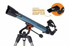 Celestron Inspire 70Az Refractor Astronomy Telescope + Smartphone Adaptor